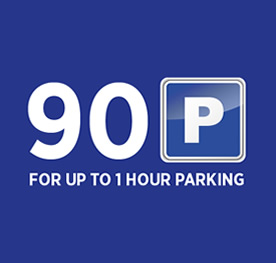 Bow Street Mall 90p Car Parking Costs
