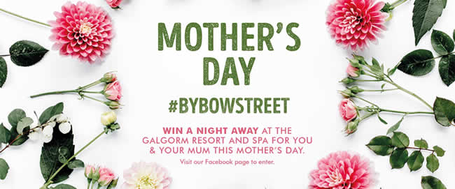 Mother's Day competition at Bow Street Mall