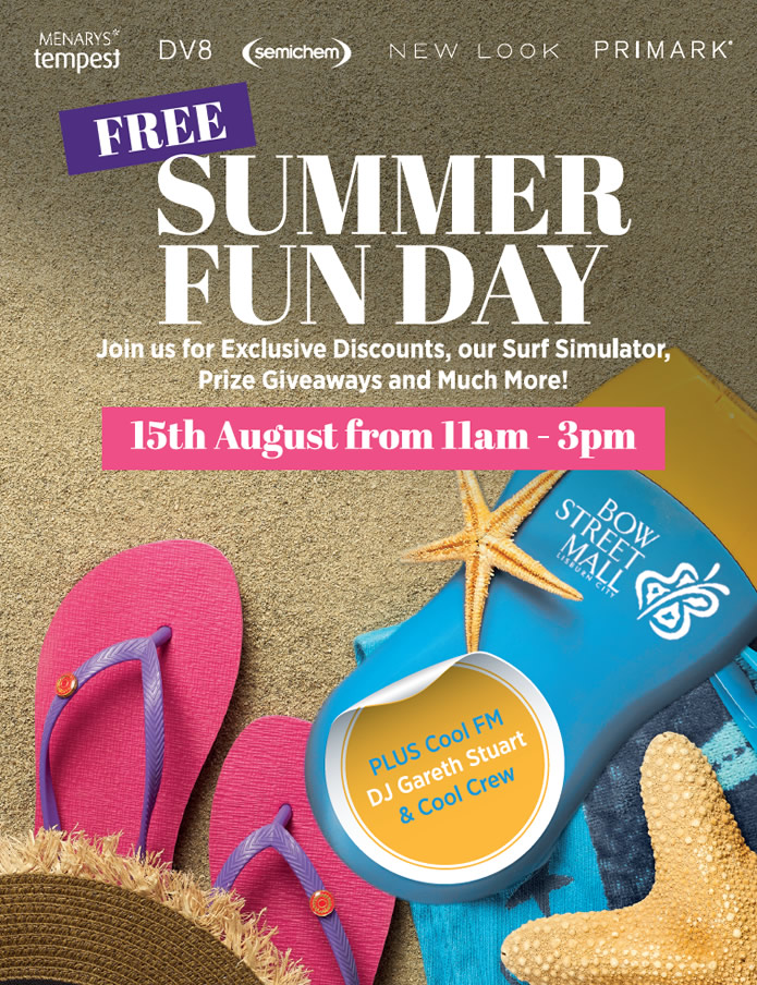 Summer Funday at Bow Street Mall Lisburn