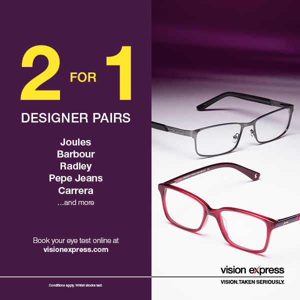 Vision Express Lisburn Offers